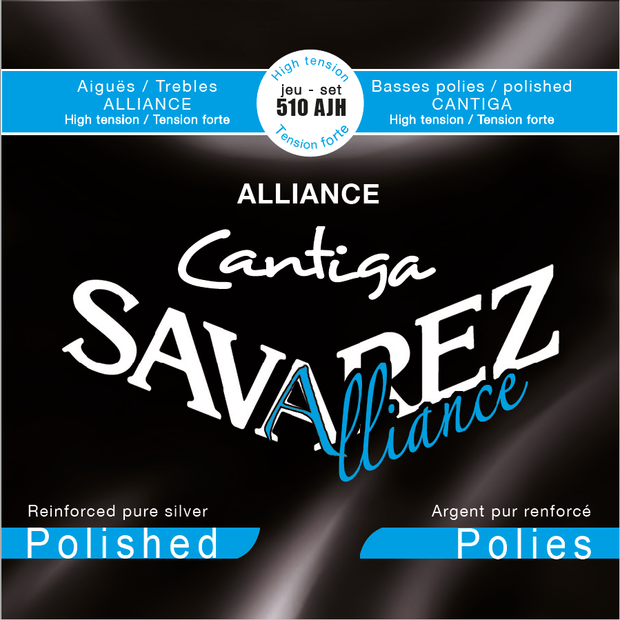 ALLIANCE CANTIGA POLISHED HIGH TENSION 510AJH