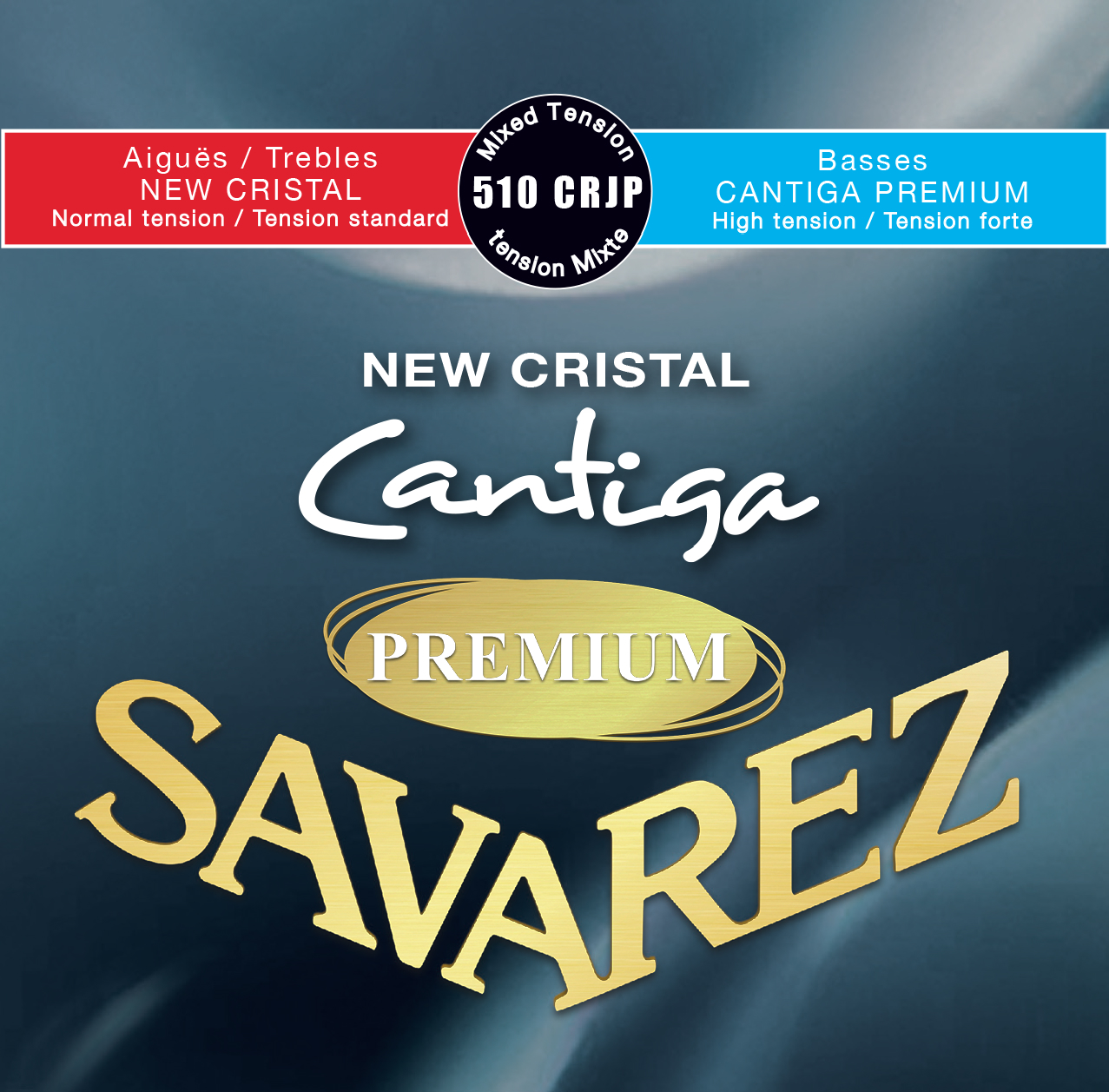 NEW CRISTAL CANTIGA PREMIUM MIXED TENSION 510CRJP
