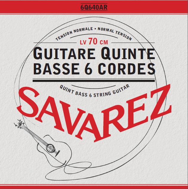Quint bass 6 strings guitar (Bariton) Normal Tension 6Q640AR