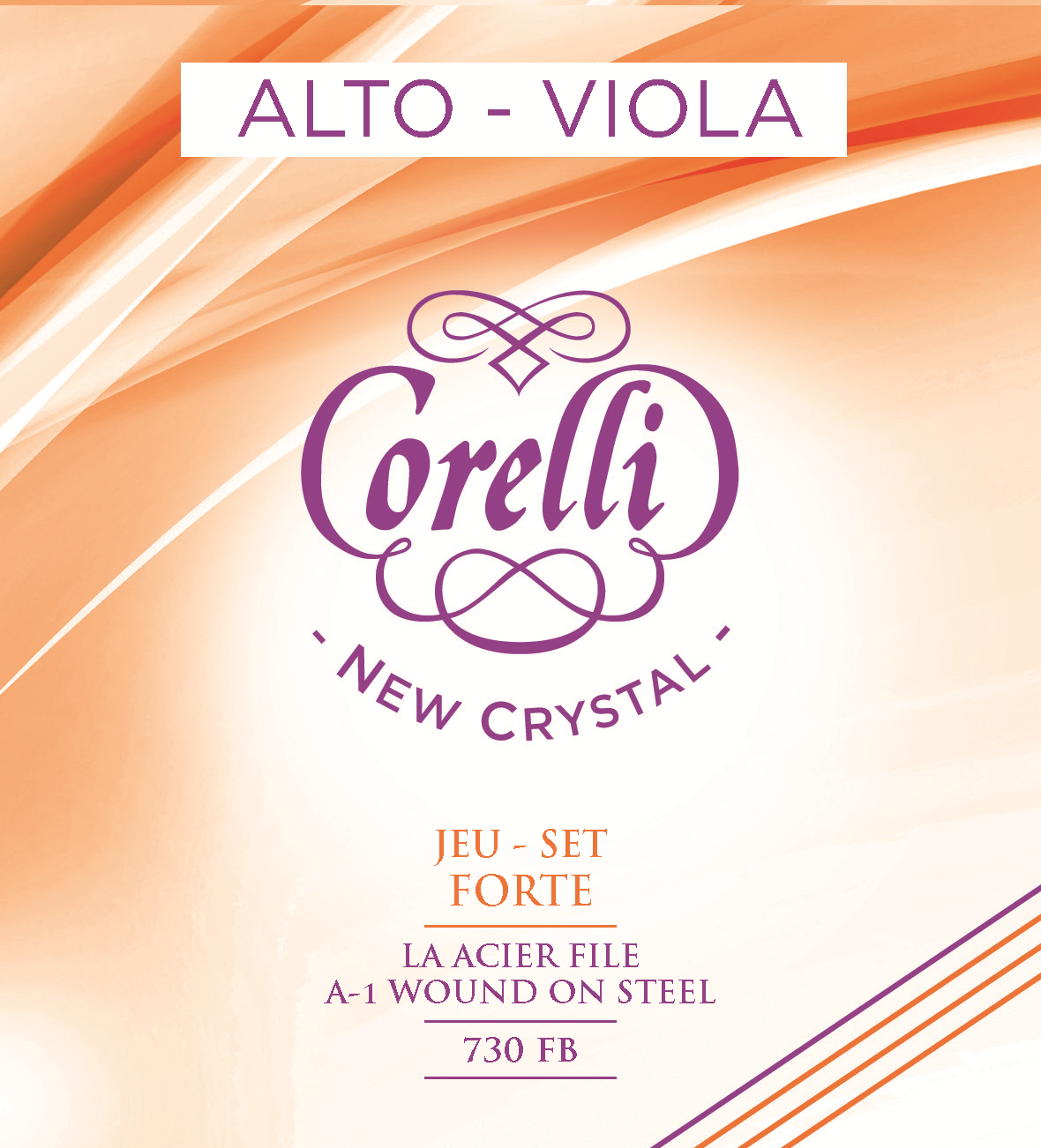 CORELLI NEW CRYSTAL FORTE 730FB VIOLA