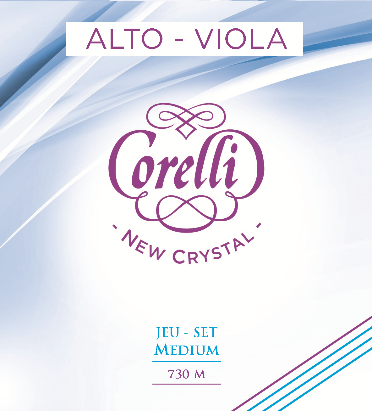 CORELLI NEW CRYSTAL MEDIUM 730M VIOLA