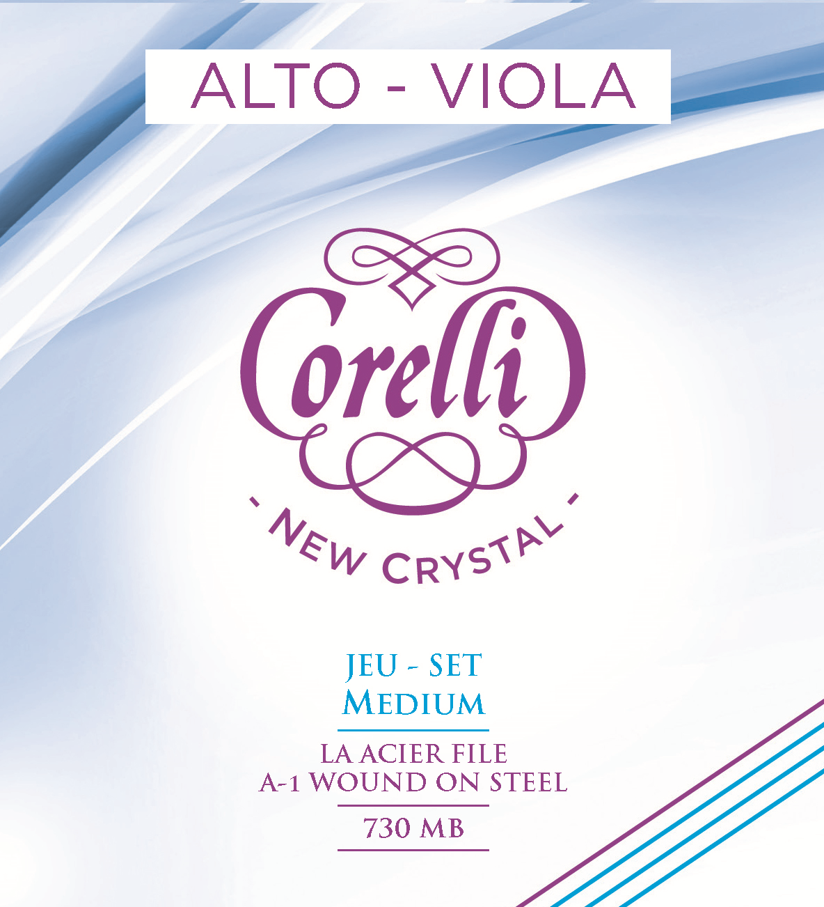 CORELLI NEW CRYSTAL MEDIUM 730MB VIOLA