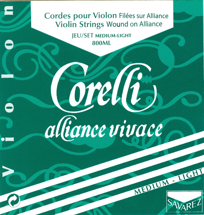 CORELLI ALLIANCE VIVACE MEDIUM LIGHT 800ML VIOLIN