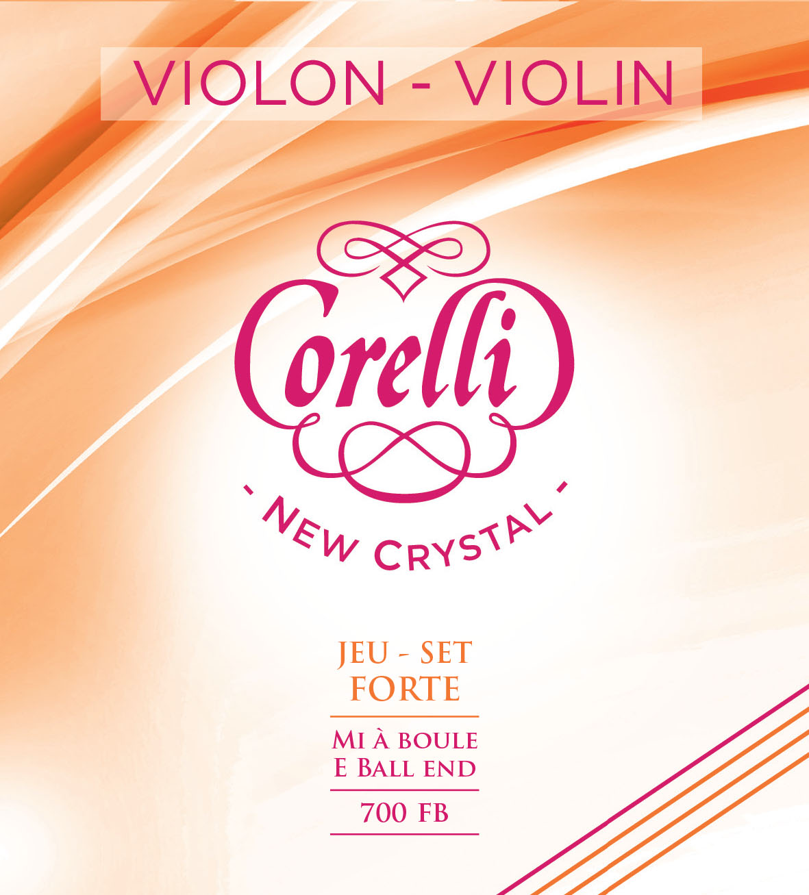 CORELLI NEW CRYSTAL FORTE 700FB Violon