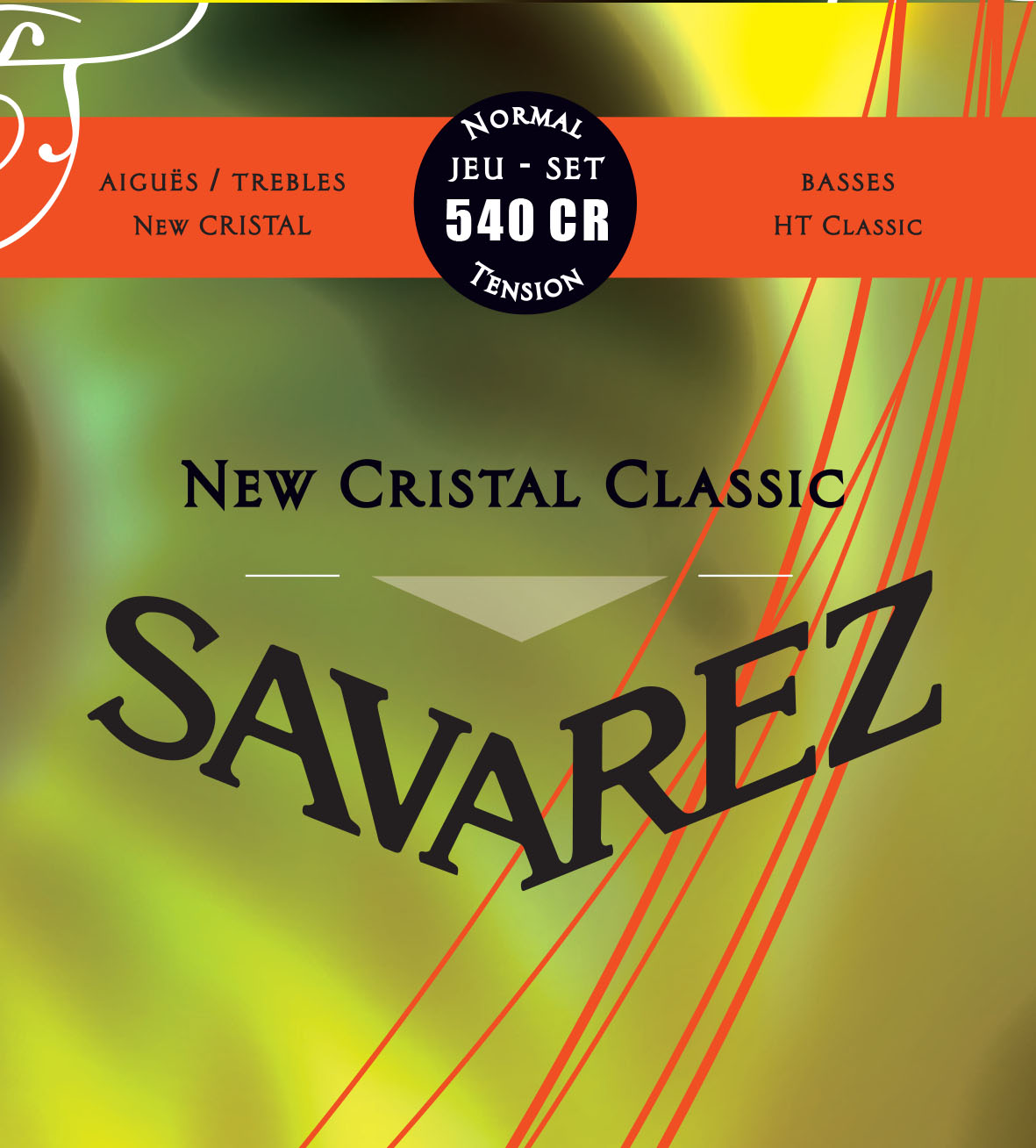 NEW CRISTAL CLASSIC NORMAL TENSION  540CR