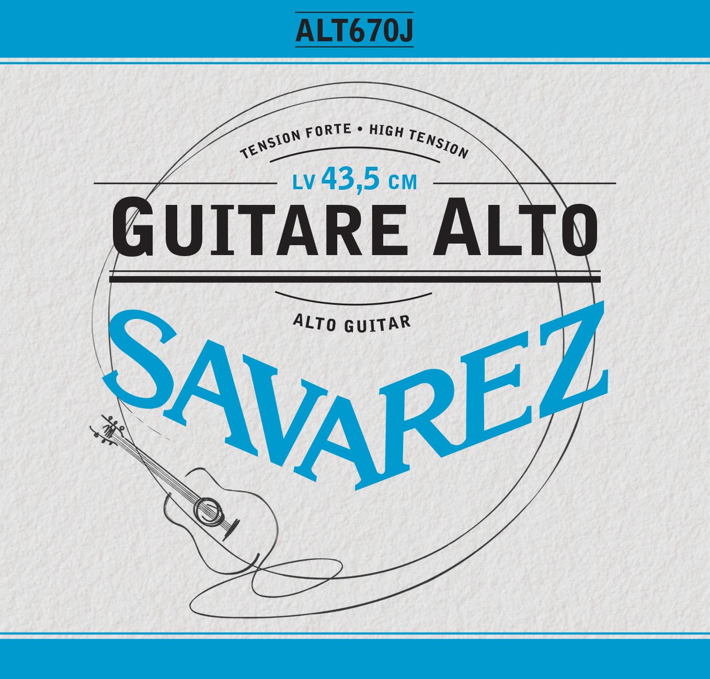 ALTO GUITAR HIGH TENSION ALT670J