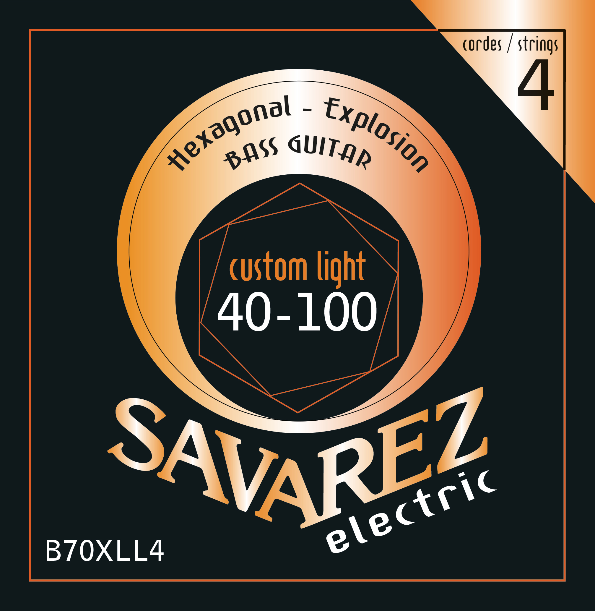 SAVAREZ ELECTRIC HEXAGONAL EXPLOSION BASSE B70XLL4