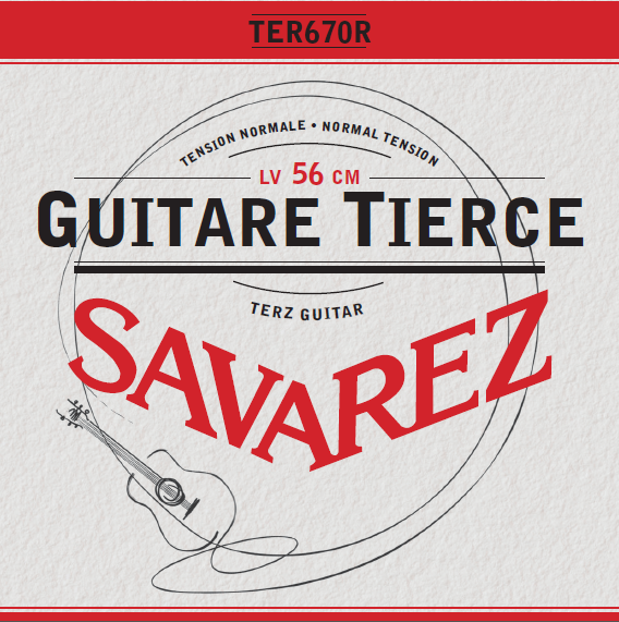 GUITARE TIERCE TENSION NORMALE TER670R