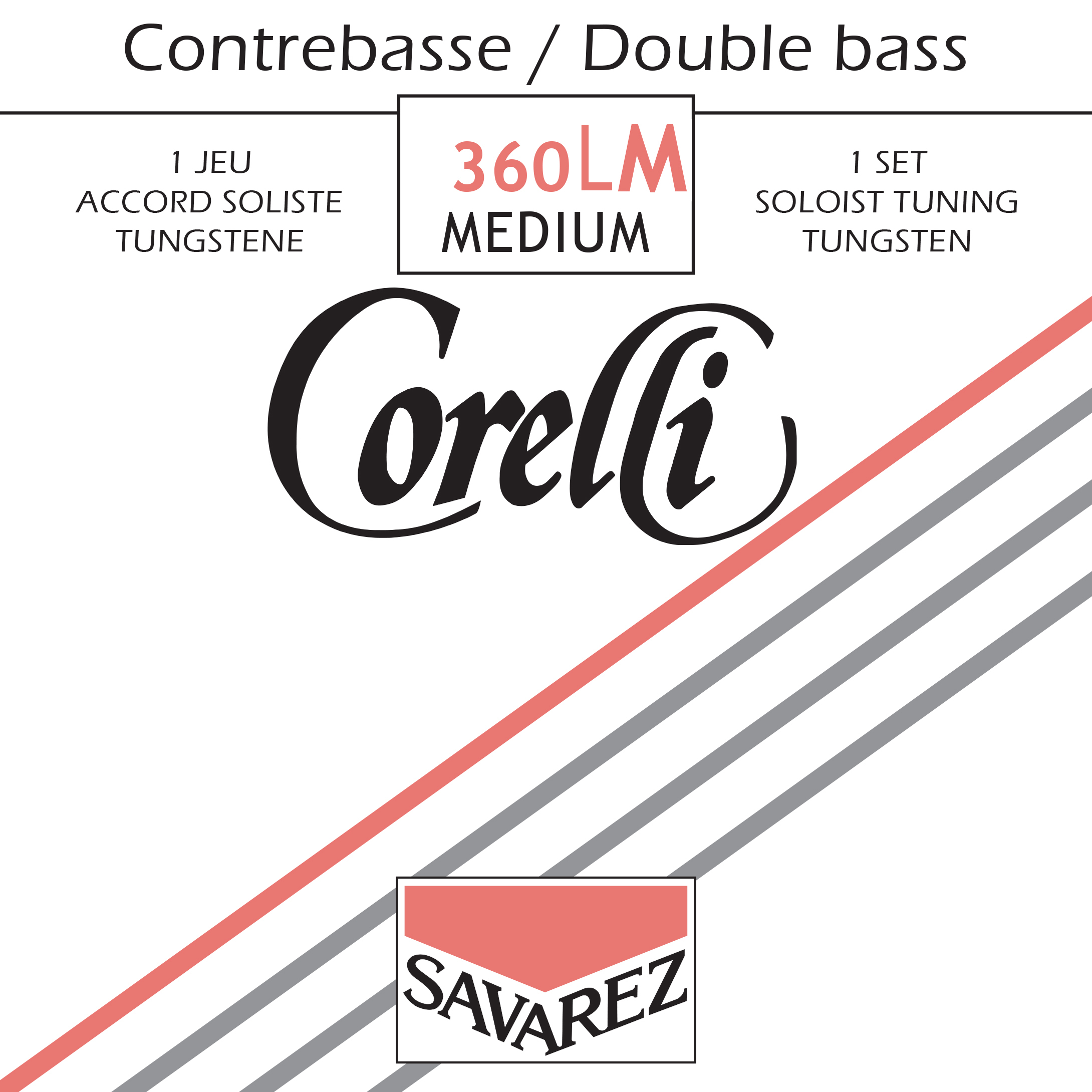 CORELLI MEDIUM TENSION 360LM TUNGSTEN SOLO SET