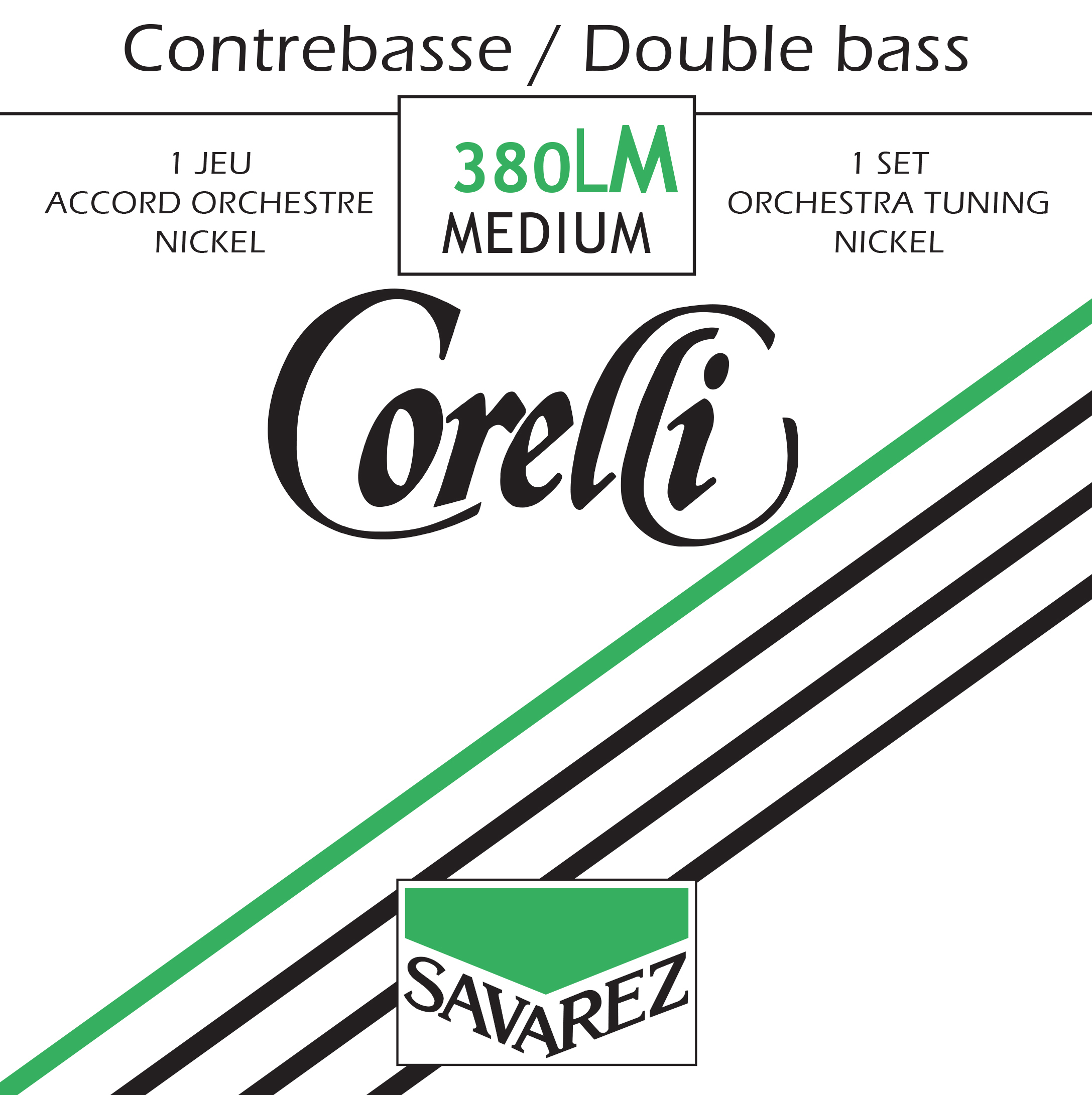 CORELLI MEDIUM TENSION 380LM NICKEL ORCHESTRA SET