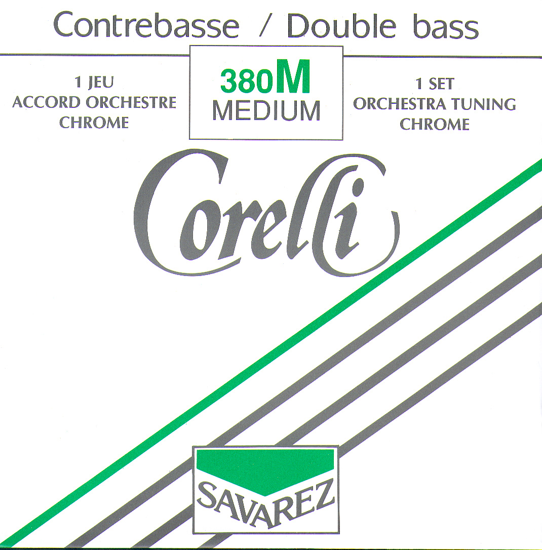 CORELLI MEDIUM TENSION 380M NICKEL ORCHESTRA SET