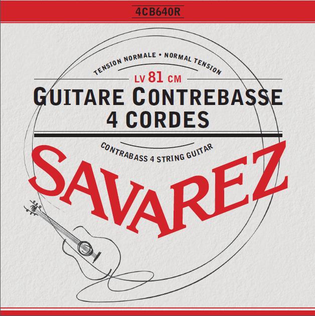 GUITARE CONTREBASSE 4 CORDES 4CB640R