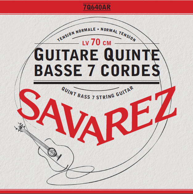 QUINT BASS 7 STRINGS GUITAR NORMAL TENSION 7Q640AR