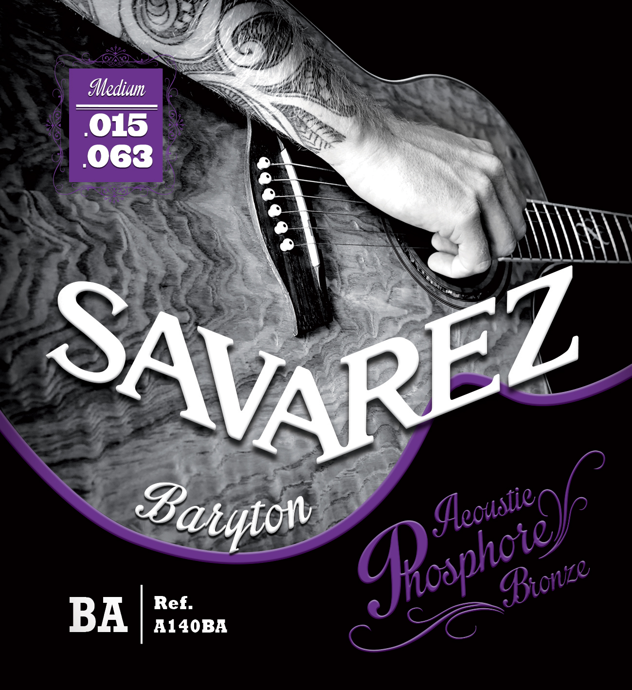 SAVAREZ ACOUSTIC PHOSPHORE BRONZE A140BA