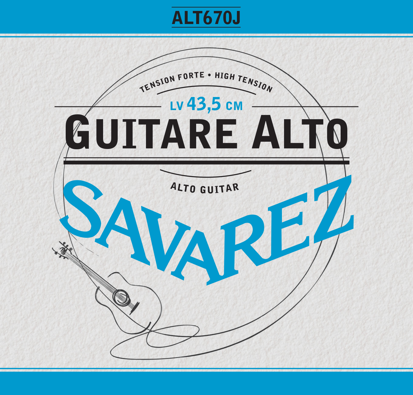 ALTO GUITAR HIGH TENSION ALT670J