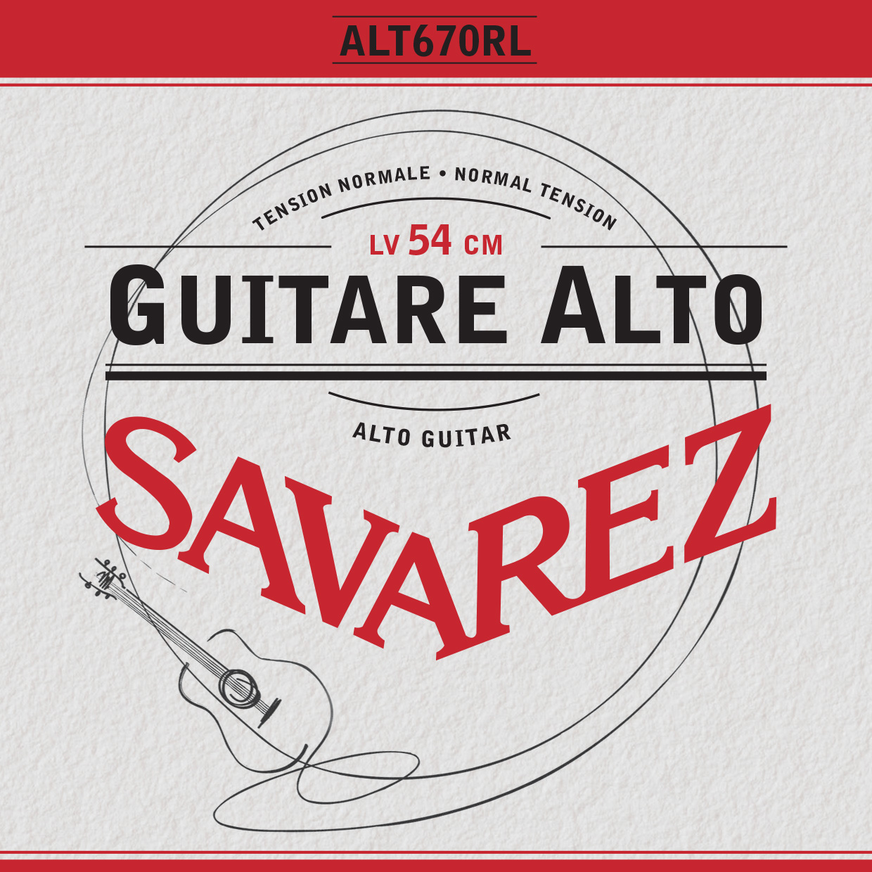 ALTO GUITAR NORMAL TENSION ALT670RL
