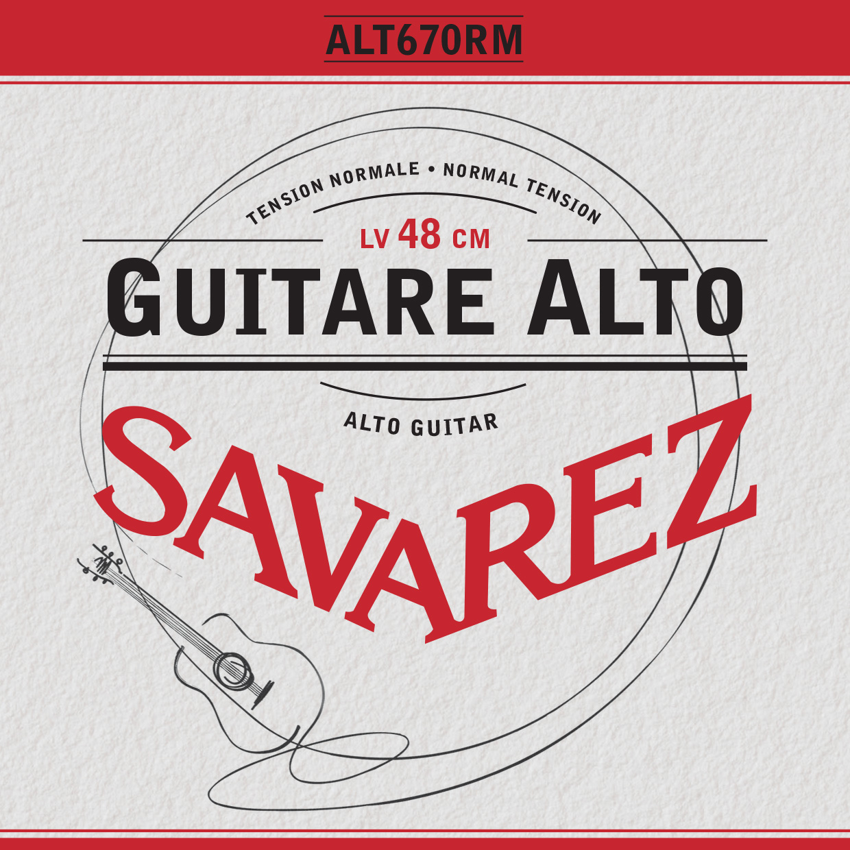 GUITARE ALTO NORMAL TENSION ALT670RM