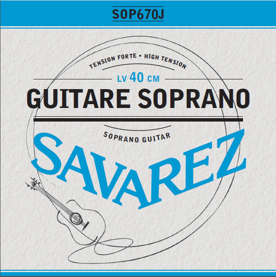 GUITARE SOPRANO HIGH TENSION SOP670J